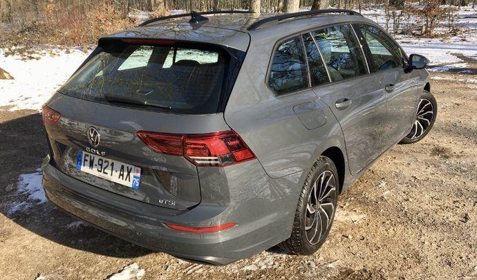 Essai - Volkswagen Golf SW (2021) : bienvenue aux clubs
