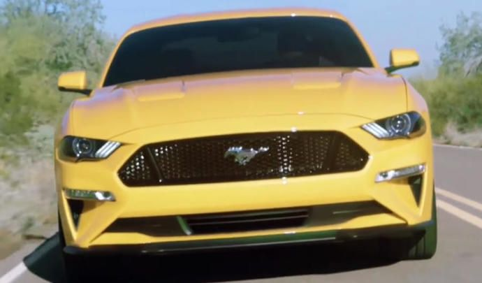 Surprise : voici la Ford Mustang restylée