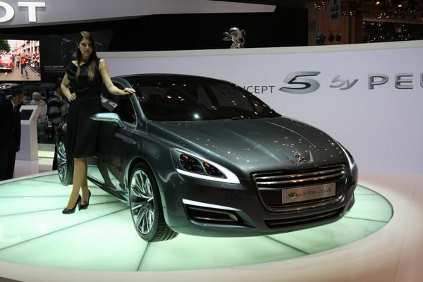 Concept 5 by Peugeot : la 508 en approche [ajout video]