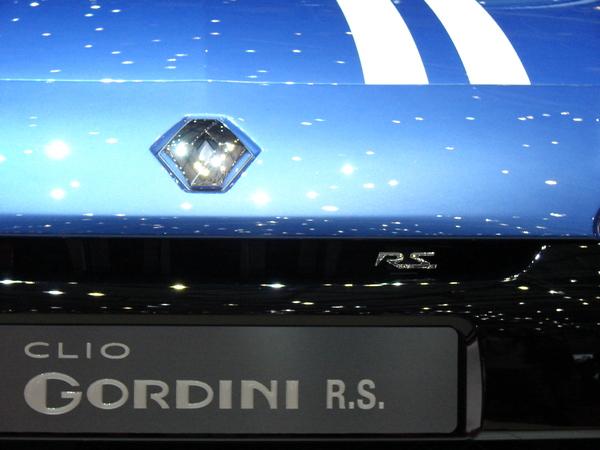 Renault Clio Gordini RS en direct de Genève : le plumage mais pas le ramage...