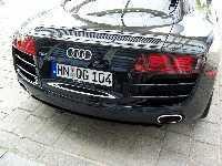 Audi R8: le V10 à Détroit, le spider un peu plus tard!