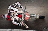 """Supermotard championnat de France 2011, Fontenay-le-Comte, interview de Sylvain Bidart: """"nous ne serons peut-être pas au championnat de France l'année prochaine"""""""