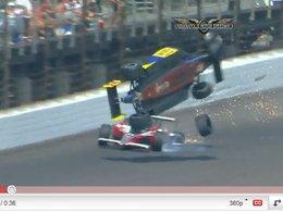 Indy 500 : 3 mois d'arrêt et beaucoup de chance pour Mike Conway