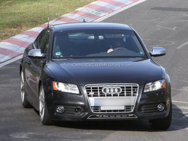 L'Audi S5 prépare son restylage optique (ou autre chose)