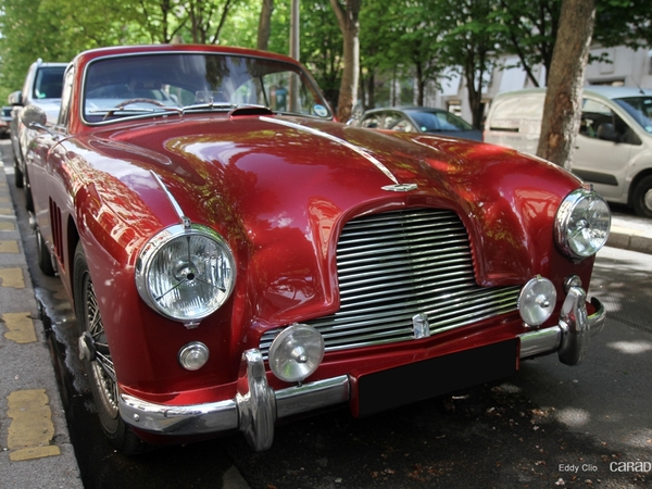 Photos du jour : Aston Martin DB2