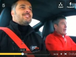 Fifth Gear : Tiff Needell vs Yvan Muller, le combat sur la glace en 911 GT3