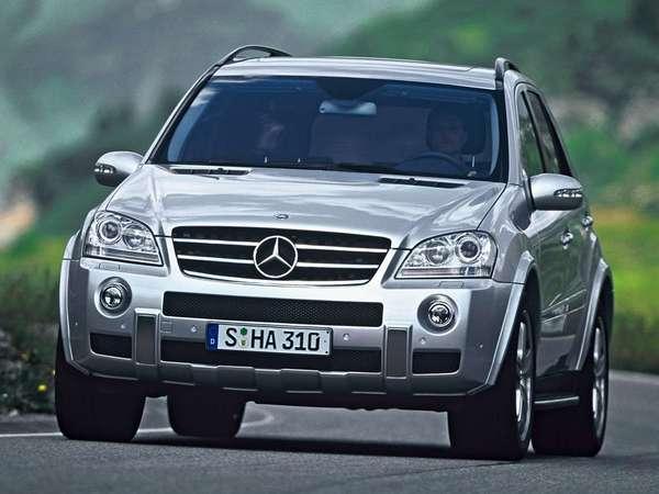 Mercedes ML63 AMG: version délurée
