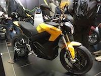 En direct du salon de Paris : Zero Motorcycles S/FXS 11kW {+ vidéo}