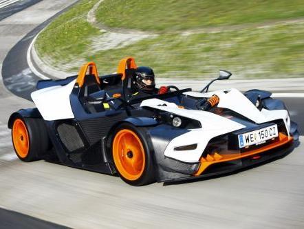 KTM X-Bow: une version plus civilisée en préparation