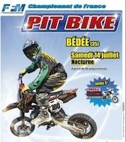 Championnat de France de Pit Bike 2012: preview de Bédée