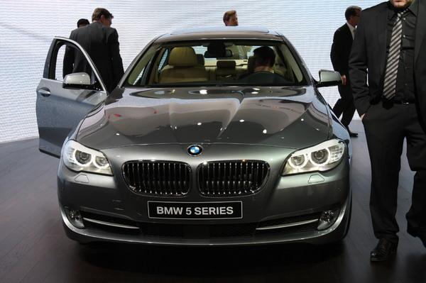 Live à Genève 2010 : la BMW Série 5 dans tous ses états