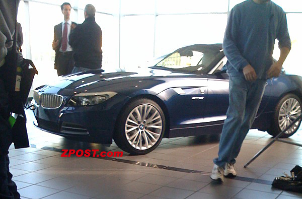 Futur BMW Z4 : c'est lui ! (ajout photo vue arrière)