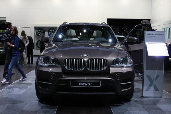 Genève 2010 : BMW X5 restylé : technologiquement votre