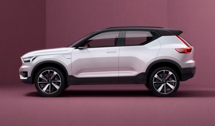 Volvo : le XC40 présenté au printemps