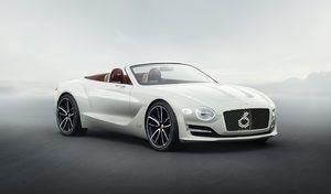Bentley : première électrique pour 2025