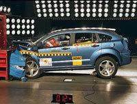 Euro Ncap:  Dodge Caliber 4 étoiles