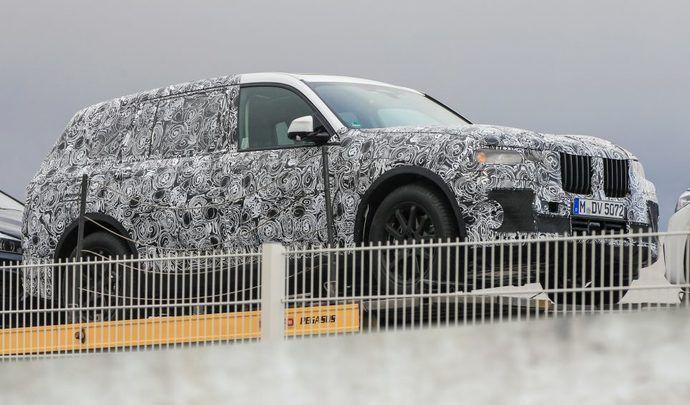 Le BMW X7 se précise