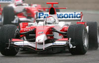GP de France : Toyota