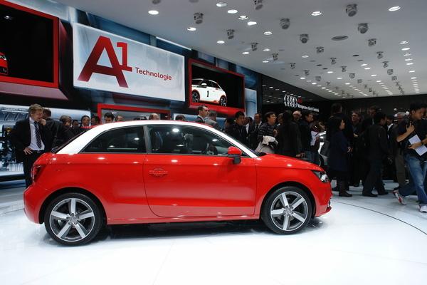Genève 2010 live : Audi A1 et e-Tron concept, la Mini pas menacée [ajout video]