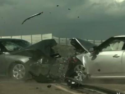 [Vidéo] La nouvelle Saab 9-5 en crash-test