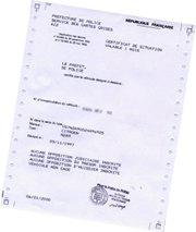 Le Certificat De Non Gage
