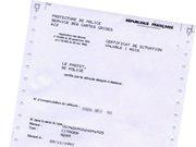 Le certificat de non-gage