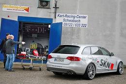 Audi A4 quattro 3.0l  TDi SKN : La force tranquille