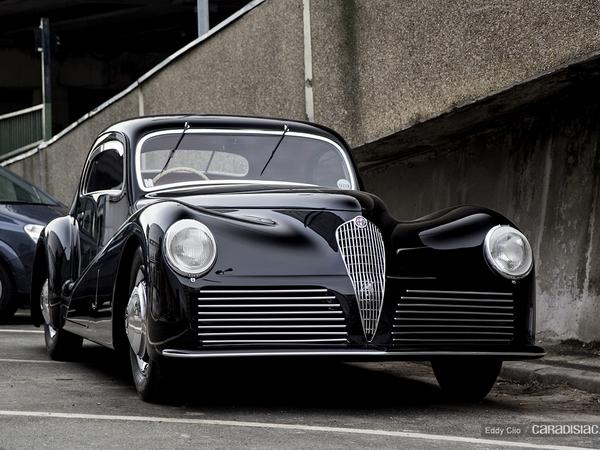 Photos du jour : Alfa Romeo 6C Bertone (Rétromobile)