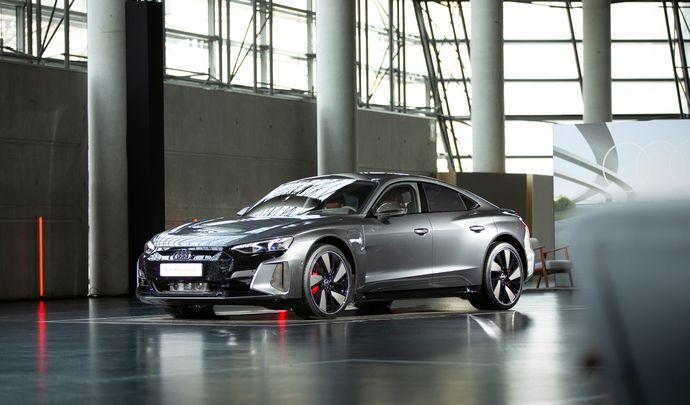 Présentation vidéo - Audi e-Tron GT: la première berline électrique des anneaux