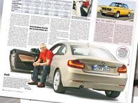 La BMW Série 2 encore en fuite