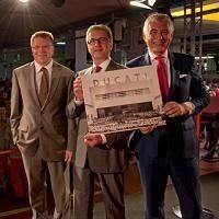 Actualité moto – Rupert Stadler CEO Audi AG: «Ducati restera Ducati»
