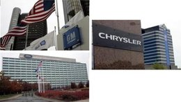 GM, Chrysler et Ford demandent 34 milliards de $ pour survivre