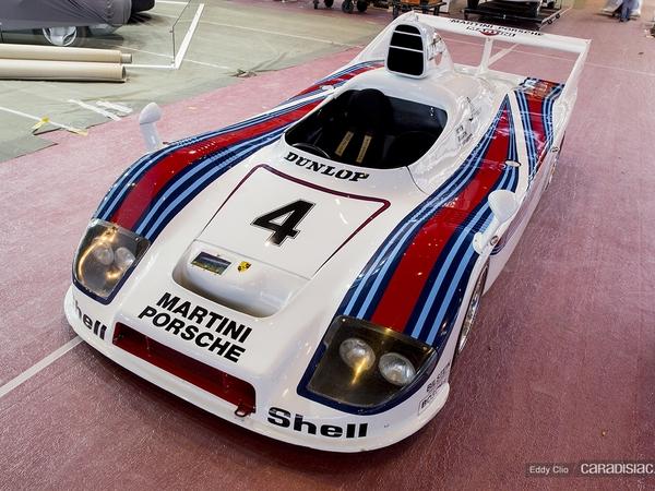 Photos du jour : Porsche 936/77 Spyder (Rétromobile)