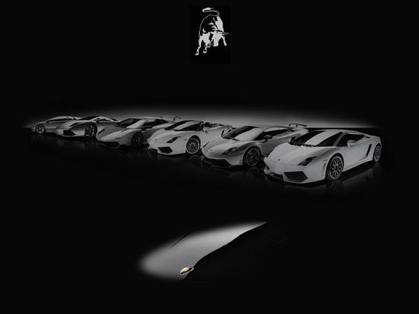 Remplaçante de la Lamborghini Murcielago : on commence le teasing