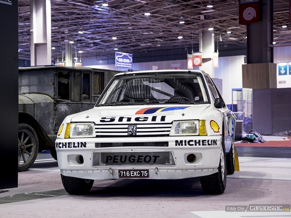 Photos du jour : Peugeot 205 T16 (Rétromobile)