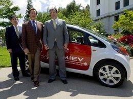 L'Etat de Californie a accueilli deux Mitsubishi i-MiEV