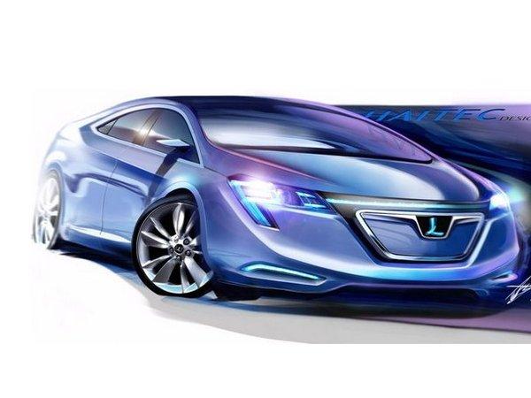 Shanghai 2011 : Luxgen Neora Concept, berline sino-taiwanaise électrique