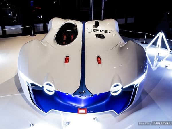 Photos du jour : Renault Alpine Vision Gran Turismo (Exposition de Concepts Cars)