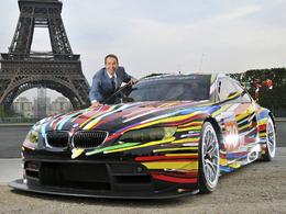"""(Le Mans 2010) Présentation officielle de la BMW M3 GT2 """"Jeff Koons"""""""