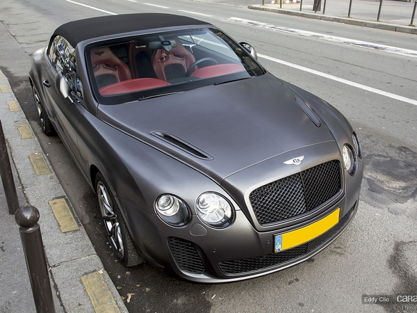 photos du jour bentley continental gt supersports convertible. Black Bedroom Furniture Sets. Home Design Ideas
