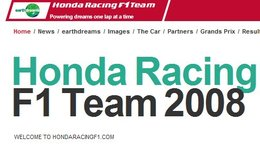 F1 : Honda Racing F1 mis en vente !