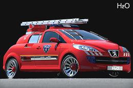 Question du jour n° 137 : dans quel pays cette Peugeot 206 est-elle utilisée par les pompiers ?