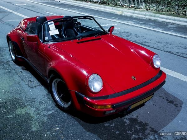 Photos du jour : Porsche 911 Speedster (Rétromobile)