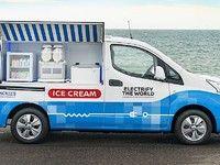 Nissan présente un camion glacier électrique