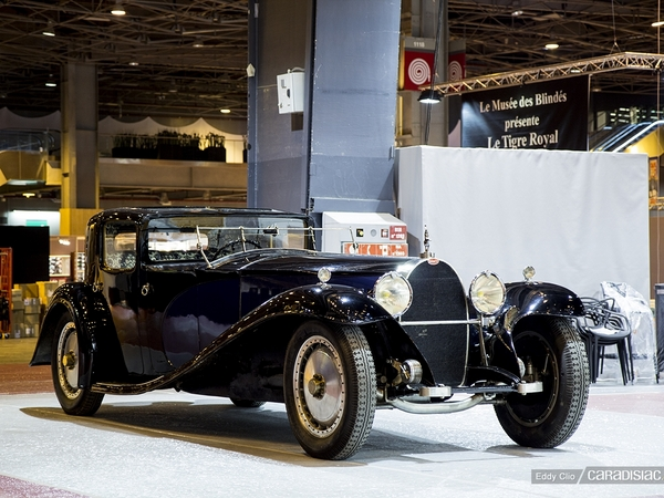 Photos du jour : Bugatti Royale (Rétromobile)