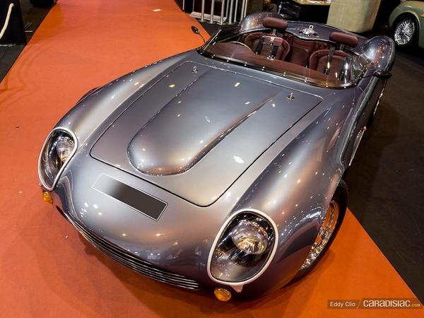 Photos du jour : Evanta Barchetta V8 (Rétromobile)