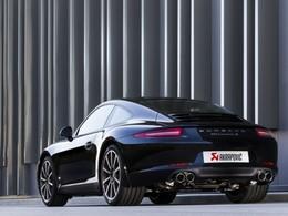 Vidéo : Akrapovic fait chanter la dernière Porsche 911