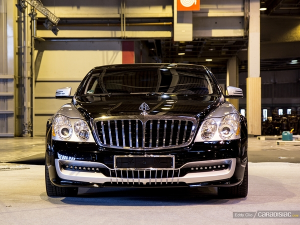 Photos du jour : Maybach 57C Coupe Xenatec (Rétromobile)