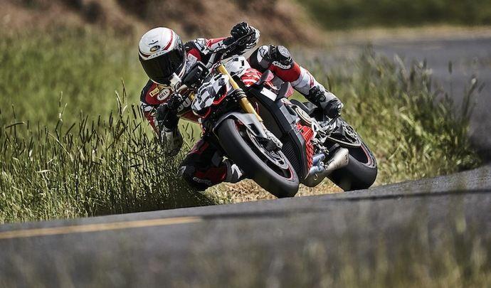 Ducati Streetfighter V4: le prototype en vidéo