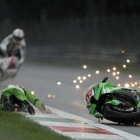 Superbike - Italie: Sale temps pour Monza